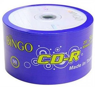 BINGO CD-R 700 MB 56X 50 Lİ SPINDLE